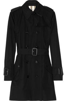 Burberry London | Mid-length gabardine trench coat