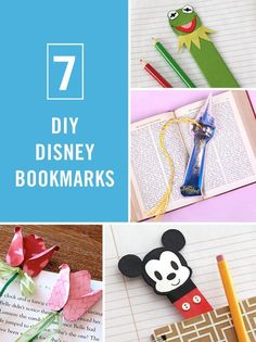 Learn how to make these DIY Disney bookmarks perfect for the bookworm kids (and adults) in your family. Kids Crafts, Disney Diy Crafts, Crafts For Teens To Make, Adult Crafts, Cute Crafts, Crafts To Sell, Easy Crafts, Diy And Crafts, Disney Crafts For Adults