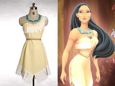 Disney Pocahontas Cosplay, Pocahontas Costume and other apparel, accessories and trends. Browse and shop 12 related looks. Pocahontas Outfit, Disney Pocahontas Kostüm, Pocahontas Cosplay, Fantasia Disney, Run Disney, Pocahontas Necklace, Princess Pocahontas, Princess Jasmine, Disney Cosplay