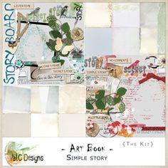 ArtBook - Simple Story - the kit