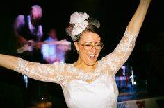Let's hear it for our lovely bride! To see the rest of this shoot, click here: http://thebowdonrooms.co.uk/strictly-ballroom-at-the-bowdon-rooms/