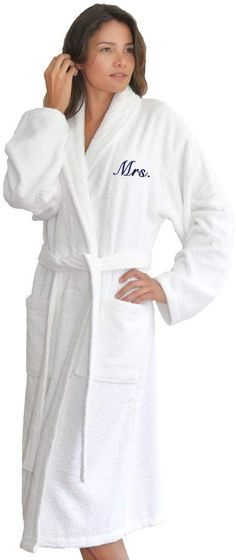 022efdec27 Feel like you re at a spa when wrapped in this Linum Home Textiles Terry  Bathrobe. Extra-thick