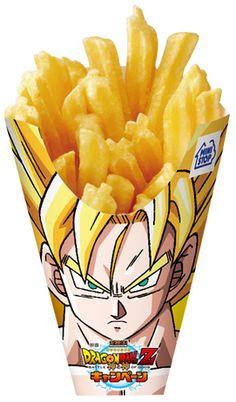 dragonball fries!!! OVER 9000!!!!