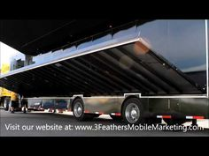 Mobile Event Marketing Trailer - Set Up Expandable Wall! - YouTube