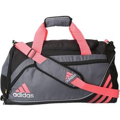 adidas Team Speed Duffel - Small ($40) ❤ liked on Polyvore featuring bags, luggage, sport, activewear, adidas and duffle bags