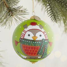 Li Bien Owl Ornament