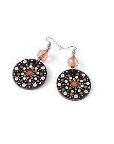 Nadmorskie kolczyki drewniane - kolczyki - drewno - Pakamera.pl Drop Earrings, Jewelry, Jewlery, Jewerly, Schmuck, Drop Earring, Jewels, Jewelery, Fine Jewelry