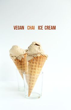 Vegan Chai Ice Cream (use coconut sugar)