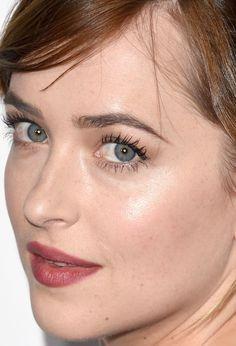Close-up of Dakota Johnson at the 2015 ELLE Women in Hollywood Awards.