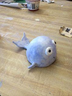 Final-Pinch Pot Animal Head