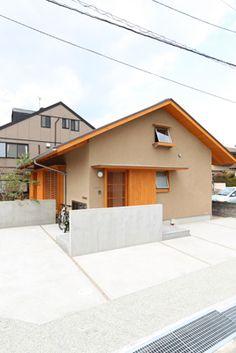 My Home Design, House Design, Random House, Japanese House, Facade, Space, Architecture, Outdoor Decor, Home Decor