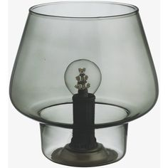 Lyss Smoked Glass Table Lamp (1,405 PHP) ❤ liked on Polyvore featuring home, lighting, table lamps, smoke grey, mini lights, mini light, miniature lamp, mini table lamps and mini lamp