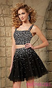 Buy Short Sweetheart Two Piece Dress by Mori Lee at PromGirl