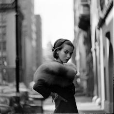 New York City, 1950s Love her look!!!!!!!!!!!!