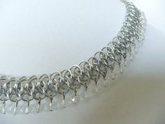 Beaded+Arkham+chainmaille+necklace+Chainmaille+by+TheArmorersWife,+$125.00