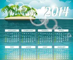 Desain Kalender | Template Kalender