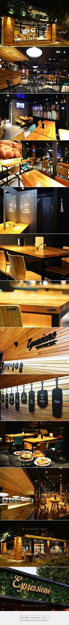 Espressione café delizia by Barsante Disegno, Rosario – Argentina --- http://retaildesignblog.net/