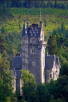 Ardverikie House ~ was built in 1870 and is one of the finest private houses in the Scottish Highlands ~ Loch Laggan