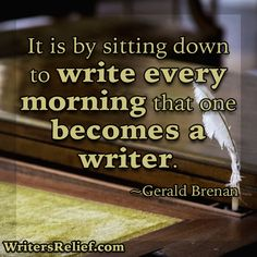Quotes For Writers: Gerald Brenan