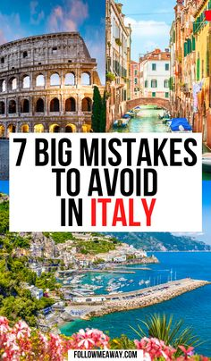 10 Mistakes To Avoid In Italy | how to travel in italy like a pro | travelers guide to italy | things to avoid in Italy | what to do in Italy | what to avoid when in Italy | mistakes to avoid in Italy | when in Rome | visiting Italy | planning your Italy trip | travel guide for Italy | travel tips for Italy #Italy #italian #traveltips