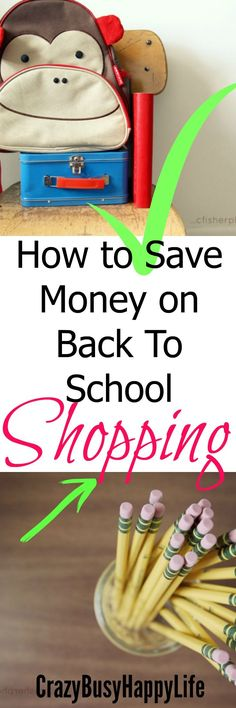 It's that time of the year again. Back-to-school shopping is in full swing. Here are some great tips for saving money on your school supplies and school clothes. Click through to read. Back To School Money Saving Hacks