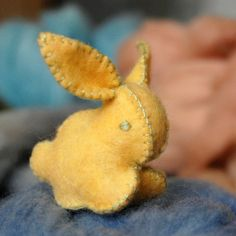 Felt Easter bunny. Shouldn't be too hard to make.