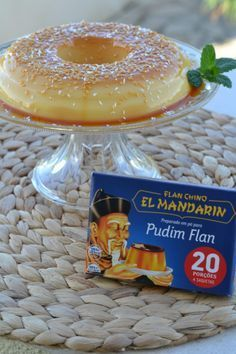 Portuguese Desserts, Portuguese Recipes, Flan, Coco, Deserts, Food And Drink, Rolls, Favorite Recipes, Sweets