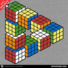 Magic Puzzle Cube - Collection Image - RIPT Apparel