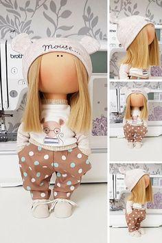 Tilda doll Nursery doll Fabric doll Puppen Interior doll