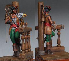 pirate female figurines