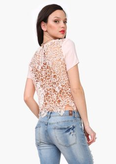 Back At It Lace Top