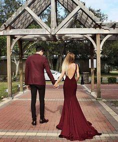 Imagem de couple, love, and dress