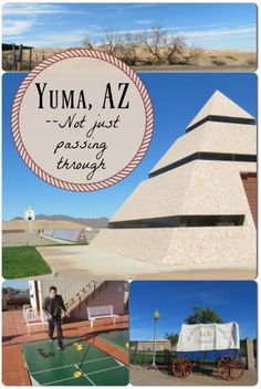 Headed to Arizona? If your route takes you through Yuma, be sure to stop and check it out!