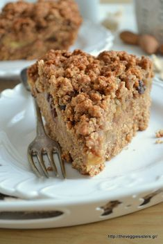 Τριφτή μηλόπιτα Pie Recipes, Dessert Recipes, Pie Crumble, Sweet Pie, Sweets Cake, Healthy Desserts, Banana Bread, Breakfast Recipes, Food And Drink