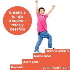 Podemos enseñar a los niños a superarse y enfrentarse a sus retos con motivación y siguiendo estos consejos: http://www.guiainfantil.com/articulos/educacion/autonomia/la-superacion-de-los-retos-en-la-educacion-de-los-ninos/