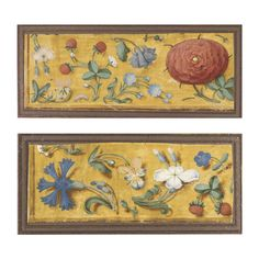 Two cuttings from the border of an illuminated Flemish manuscript [southern Netherlands (Ghent or Bruges), c.1500-10] | Lot | Sotheby's