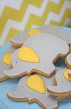 Cute elephant cookies