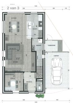 Dream House Exterior, Dream House Plans, Small House Plans, House Floor Plans, Home Building Design, Home Design Plans, Building A House, Best Modern House Design, Modern Villa Design