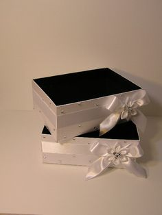 Wedding  Program Box Amenities Box Bathroom by bwithustudio, $34.00