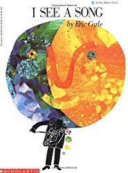 I See a Song - Eric Carle. Wordless book that goes beautifully with art lessons on abstract art. Music Classroom, Music Teachers, Music Education, Physical Education, Health Education, Wordless Book, Music Lesson Plans, Eric Carle, Music For Kids