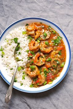 New Orleans with Shrimp and Sausage - my take on Gumbo! This recipe makes even the roux from scratch and is absolutely perfect to let simmer for Sunday supper! Cajun Recipes, Sausage Recipes, Seafood Recipes, New Recipes, Dinner Recipes, Cooking Recipes, Healthy Recipes, Haitian Recipes, Donut Recipes
