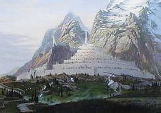 Gandalf at Minas Tirith