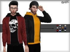 A new top for male. It is very sporty and stylish. Hope you like it. ^_^ Found in TSR Category 'Sims 4 Male Everyday'