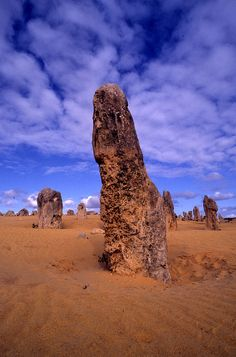 The Pinnacles – Nambung National Park, Western Australia Perth Western Australia, Australia Travel, Places To Travel, Places To See, Places Around The World, Around The Worlds, Pinnacles Desert, Nambung National Park, Statues