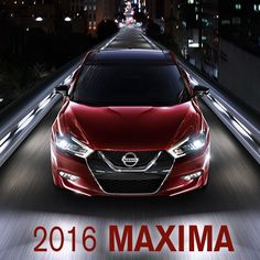 The all-new #2016Maxima features a 300-HP 3.5L V6 & a lighter, more rigid chassis.  More info click on the pic!