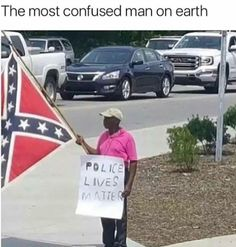 If he was a T Mobile rep, I'd consider this the greatest marketing strategy of the 21st century.  Assault or applaud?           ♿ #weird #strange #dichotomy #support #crazy #different #gains #life #live #love #memes #diversity #unify #funny #tmobile #black #south #police #blm #plm  (at Crazy Zone)