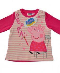 PEPPA PIG – ΠΑΙΔΙΚΗ ΜΠΛΟΥΖΑ ΓΙΑ ΜΩΡΑ ΜΕ ΠΕΠΠΑ ΓΟΥΡΟΥΝΑΚΙ http://www.babykid.gr/