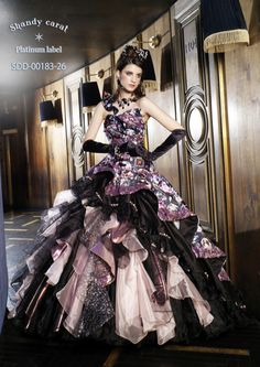 Sort of reminds me of Steampunk Big Dresses, Gala Dresses, Ball Gown Dresses, Quinceanera Dresses, Pretty Dresses, Dress Up, Fabulous Dresses, Beautiful Gowns, Fantasy Gowns