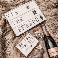 Tis the season! Get your festive holiday decor from My Cinema Lightbox. Christmas Hanukkah, Christmas Morning, Moet Rose, My Cinema Lightbox, Led Light Box, Christmas Decorations, Holiday Decor, Kwanzaa, Tis The Season