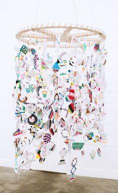 paper artist marsha golemac and stylist megan morton